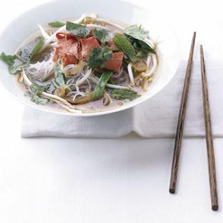 Vietnamese-Style Beef Noodle Soup.