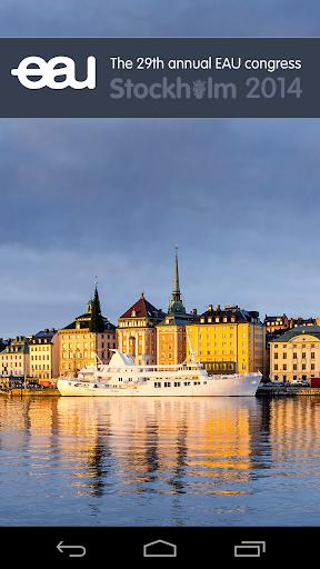 EAU Stockholm 2014