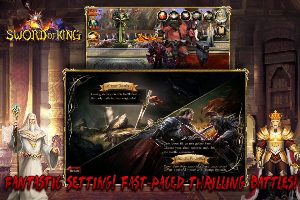 Sword of King : Excalibur - screenshot