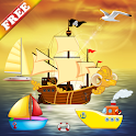 Boat Puzzles for Toddlers Kids icon