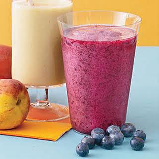 Blueberry-Pomegranate Smoothie.
