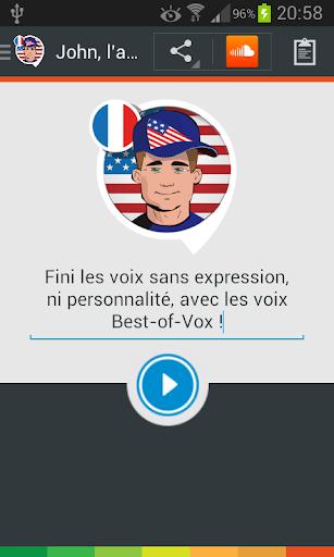 John the American voice Fra