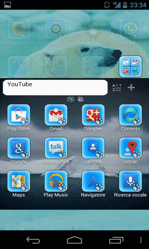 Polar Bears GO Launcher EX - screenshot