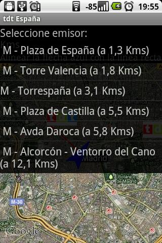 TDT Espana - screenshot