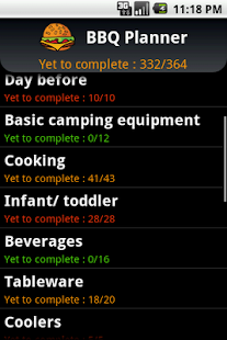 BBQ Planner - screenshot thumbnail