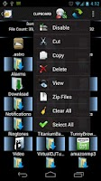 Screenshot of Shady File Manager (root) Free