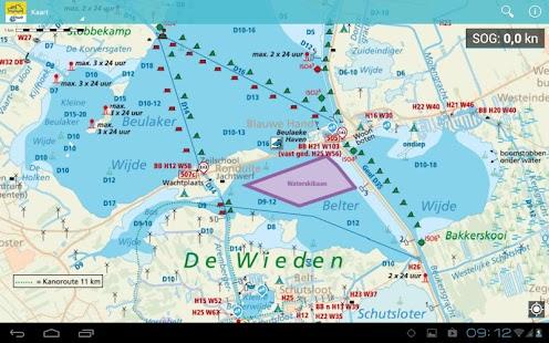 ANWB Waterkaarten - screenshot thumbnail