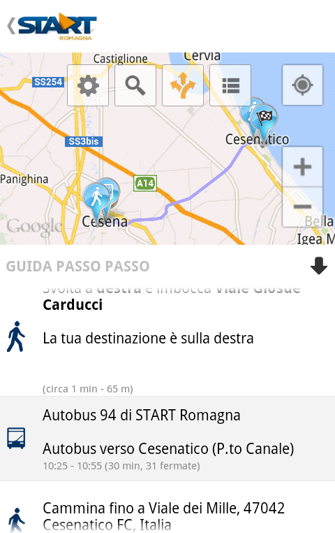 Start Romagna- screenshot
