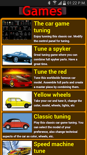 Games of cars