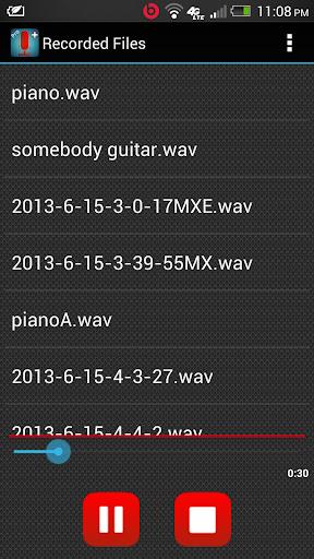 【免費音樂App】Sound Recorder + Pro-APP點子