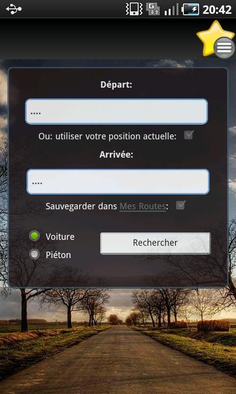 Route Planner- screenshot