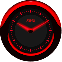 Laser Clock Widget A-RED icon