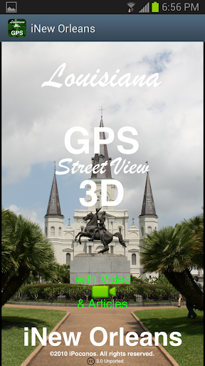 New Orleans GPS Street View 3D