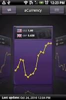 Screenshot of aCurrency Pro (exchange rate)