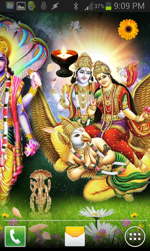 Lord VISHNU HQ Live Wallpaper- screenshot