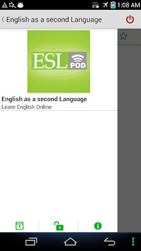 玩免費音樂APP 下載StarESL - ESL Podcast app不用錢 硬是要APP
