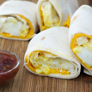 Egg And Cheese Tortillas