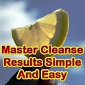 Master Cleanse Results