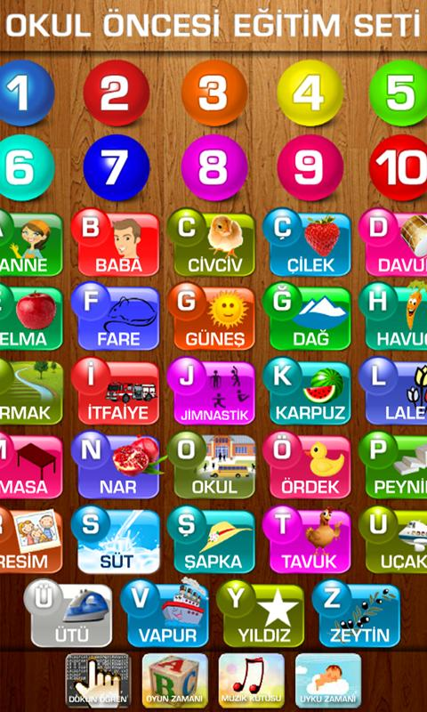 Okul Öncesi Eğitim Seti - screenshot