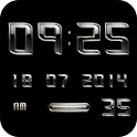 AMETAL Digital Clock Widget icon