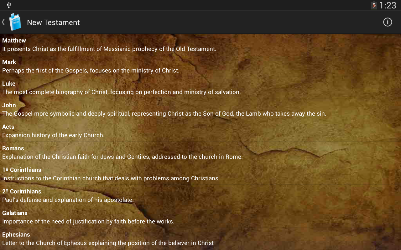 Holy Bible King James Version- screenshot