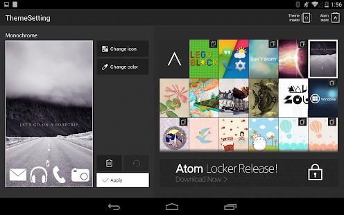 玩個人化App|Monochrome Atom Theme免費|APP試玩