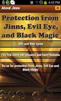 Screenshot of Jinns: types,harm & protection