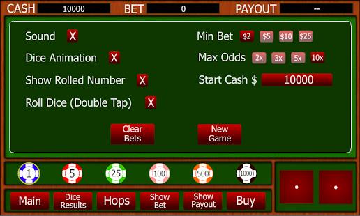 Craps buy bet