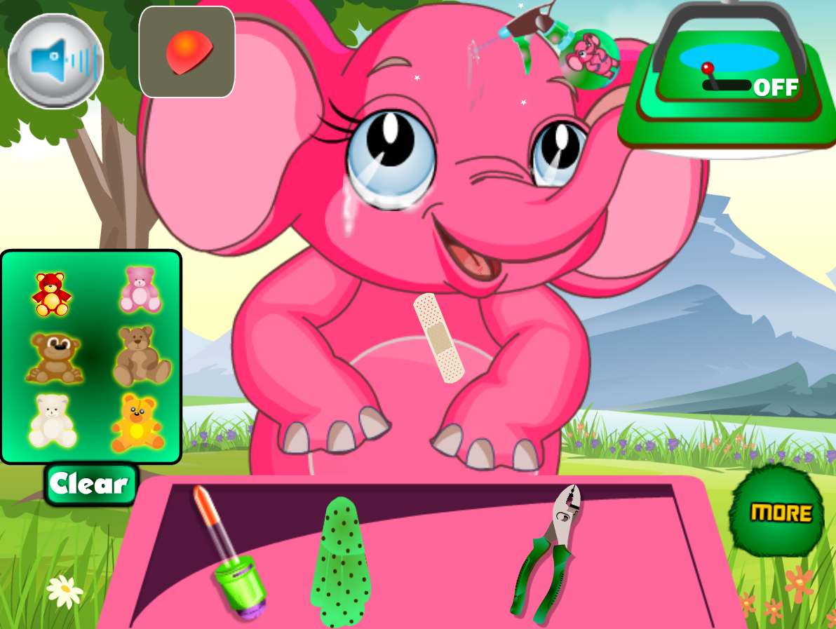 Elephant at Doctor- screenshot