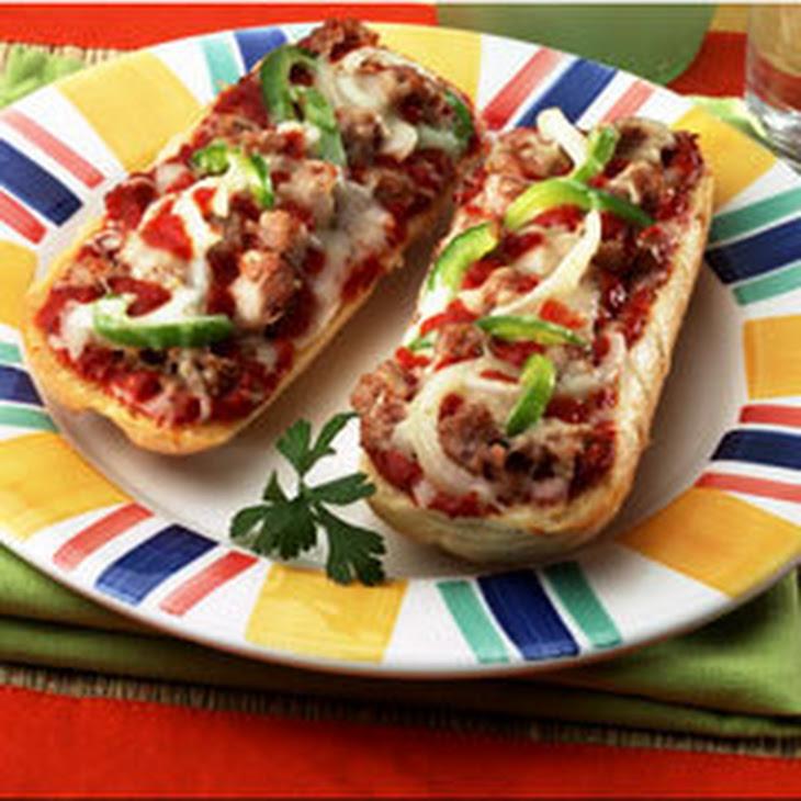 Hearty Sausage & Pepper Pizza Recipe