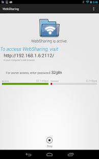 WebSharingLite (File Manager) Screenshot 7