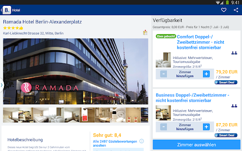 Booking.com – 750.000+ Hotels – Miniaturansicht des Screenshots