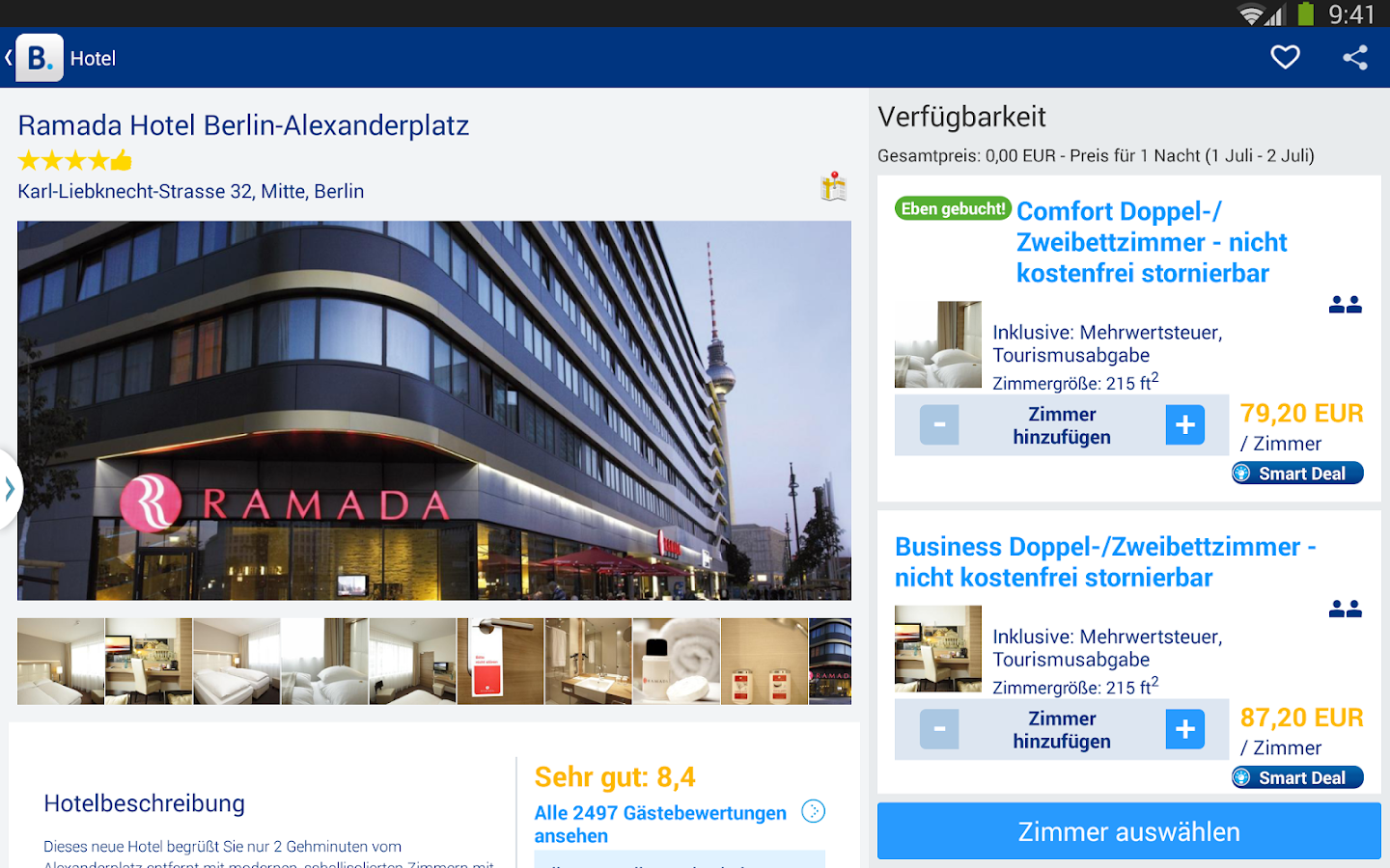 Booking.com – 640.000+ Hotels - screenshot