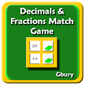 Math Decimals & Fractions Game icon