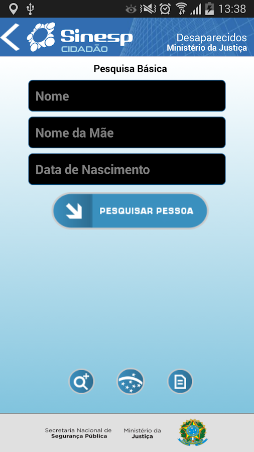 Sinesp Cidadão - screenshot