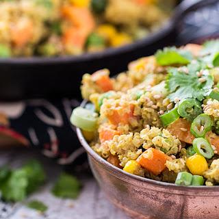 Quinoa Curry Bowl
