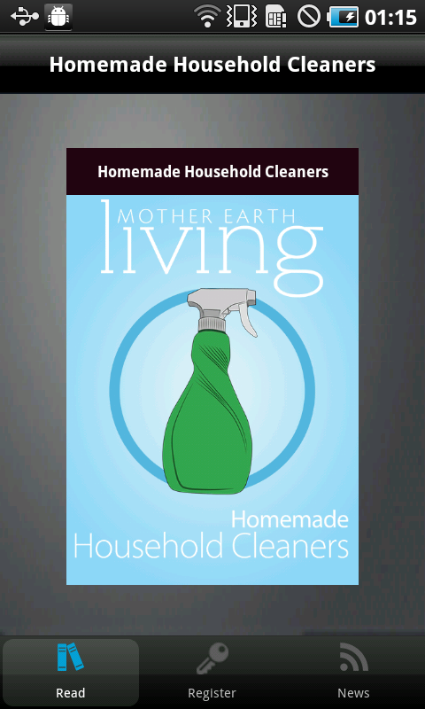 Homemade Household Cleaners - screenshot
