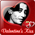 Valentine's Kiss LWP icon