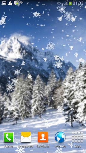 降雪動畫壁紙