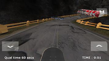 Screenshot of Skateboard Racing Free