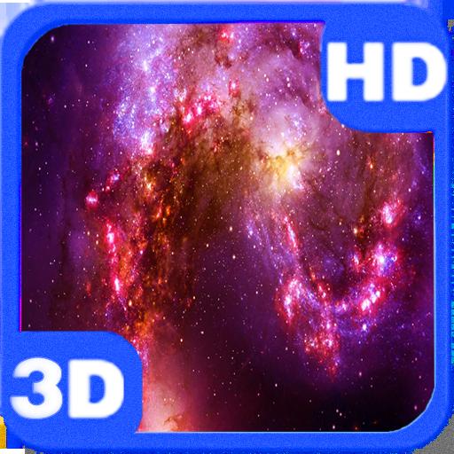 Colorful Nebula Space Flight LOGO-APP點子