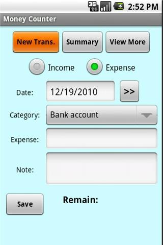 Money Counter- screenshot
