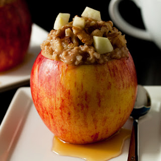 Apple Cinnamon Steel Cut Oats
