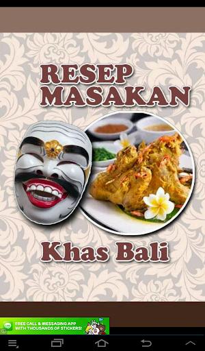 Resep: Masakkan Khas Bali