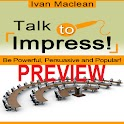 Talk to Impress! Preview logo