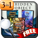 Hidden Object Secrets 3-in-1 icon
