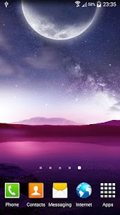Night Live Wallpaper - screenshot thumbnail