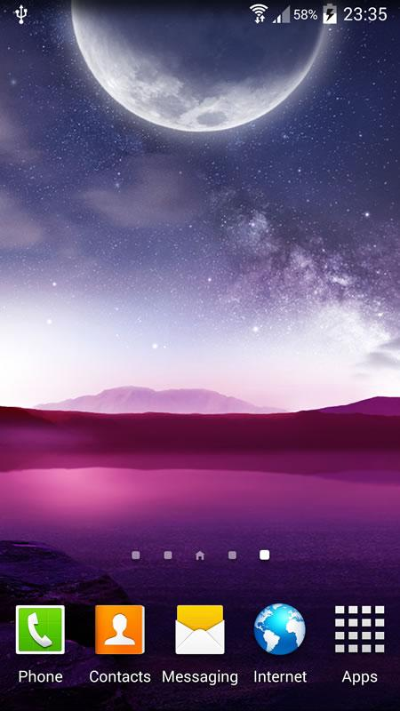 Night Live Wallpaper - screenshot