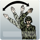 Army Arm-and-Hand Signals
