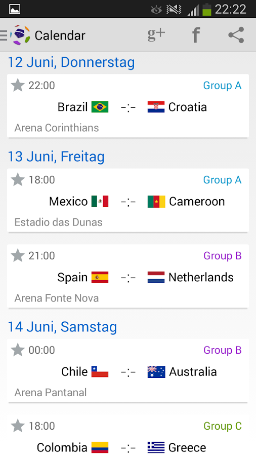 Brazil Cup 2014- screenshot